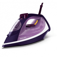 Lygintuvas Philips Iron GC3584/30 Purple, 2600 W, Steam iron, Continuous steam 40 g/min, Steam boost performance 180 g/min, Auto power off, Anti-drip function, Anti-scale system, Vertical steam function, Water tank capacity 400 ml