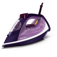 Lygintuvas Philips Iron GC3584/30 Purple, 2600 W, Steam iron, Continuous steam 40 g/min, Steam boost performance 180 g/min, Auto power off, Anti-drip function, Anti-scale system, Vertical steam function, Water tank capacity 400 ml Lyginimo technika