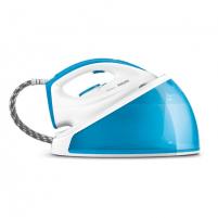 Lygintuvas Philips SpeedCare Steam generator iron GC6606/20 White/ blue, 2400 W, 1.2 L, 4.4 bar, Vertical steam function, Calc-clean function