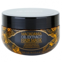 Macadamia Oil Extract Hair Mask Cosmetic 250ml Kaukės plaukams