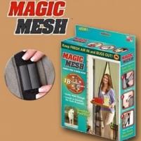 Magnetinė durų užuolaida nuo vabzdžių Magic mesh Roletai, markizės, žaliuzės
