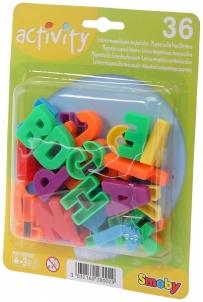 Magnetinės raidės 36 vnt. | didžiosios | Smoby Lavinimo žaislai