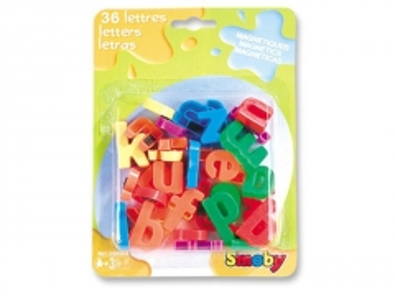 Magnetinės raidės 36 vnt. | mažosios | smoby Izglītības rotaļlietas