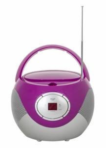 Magnetola CD player Adler AD 1125 | purple Magnetolos
