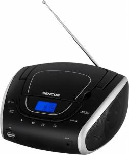 Magnetola Portable CD/MP3/USB/FM Player SENCOR SPT 1600 BS Magnetolos