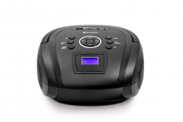 Magnetola Vakoss Boombox PF-6538K / Bluetooth/ FM/ USB/ Micro SD/ LCD ekranas, juoda Magnetolos