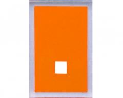 Maine dekoratyvinė apdaila 2vnt, oranžinė