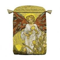 Maišelis kortoms Art Nouveau satininis daugiaspalvis
