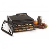 Maisto džiovyklė Food Dehydrator Excalibur 4548CDFB Black, 400 W, Number of trays 5, Temperature control, Integrated timer Maisto/ vaisių džiovintuvai