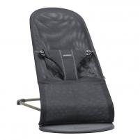 Maitinimo kėdutė Bouncer Bliss, Anthracite (Mesh) Barošanas krēsli