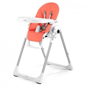 Maitinimo kėdutė P.Pappa Zero-3 - Bear Coral Vaikiški baldai, maitinimo kėdutės