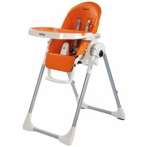Maitinimo kėdutė Pegperego P.Pappa Zero-3 Arancia Barošanas krēsli