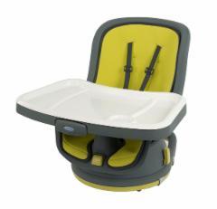 Maitinimo kėdutė Swivi Booster (Lime) Barošanas krēsli