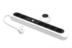 Maitinimo panelė Ednet 6-lizdai, nuotolinio valdymo pultelis Ups accessories