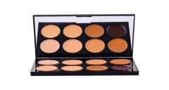 Makeup Revolution London Cover & Conceal Palette Cosmetic 10g Medium-dark Maskuojamosios priemonės veidui