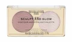 Makeup Revolution London Revolution PRO Sands Of Time Sculpt And Glow Makeup Palette 4g Румяна для лица