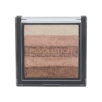 Makeup Revolution London Shimmer Brick Cosmetic 7g Shade Radiant Šešėliai akims