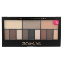 Makeup Revolution London Ultra Eye Contour Light & Shade Cosmetic 14g Šešėliai akims