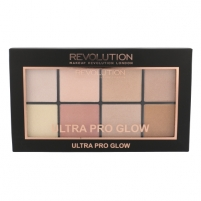 Makeup Revolution London Ultra Pro Glow Palette Cosmetic 20g Šešėliai akims