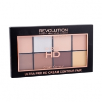 Makeup Revolution London Ultra Pro HD Cream Contour Palette Cosmetic 20g Shade Fair