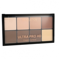 Makeup Revolution London Ultra Pro HD Cream Contour Palette Cosmetic 20g Shade Light Medium