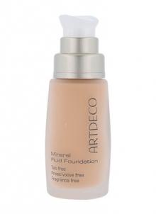 Makiažo pagrindas Artdeco Pure Minerals Mineral Fluid Foundation Cosmetic 30ml Shade 15 Soft Caramel Makiažo pagrindas veidui