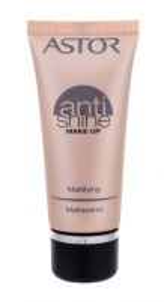 Makiažo pagrindas Astor Anti Shine Make Up Mattifying Cosmetic 30ml Beige Makiažo pagrindas veidui
