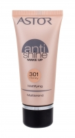 Makiažo pagrindas Astor Anti Shine Make Up Mattifying Cosmetic 30ml Honey Makiažo pagrindas veidui