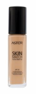 Makiažo pagrindas Astor Skin Match Fusion Make Up SPF20 Cosmetic 30ml 103 Porcelain Makiažo pagrindas veidui