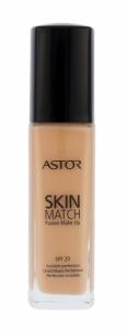 Makiažo pagrindas Astor Skin Match Fusion Make Up SPF20 Cosmetic 30ml 200 Nude Makiažo pagrindas veidui