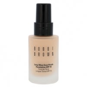Makiažo pagrindas Bobbi Brown Long-Wear Even Finish Foundation SPF15 Cosmetic 30ml Shade 3 Beige Makiažo pagrindas veidui