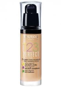 Makiažo pagrindas Bourjois Make-up for perfect skin SPF 10 (123 Perfect) 30 ml Shade: 52 Vanille Makiažo pagrindas veidui