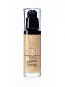 BOURJOIS Paris 123 Perfect Foundation 16 Hour Cosmetic 30ml (Beige Clair) Pamatojoties uz make-up uz sejas