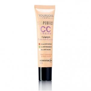 Makiažo pagrindas Bourjois Pleť AC CC Cream (Make-up 123 Perfect CC Cream) 30 ml 34 Hale Makiažo pagrindas veidui