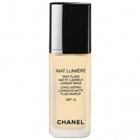 Makiažo pagrindas Chanel Mat Lumiere Teint Fluide SPF15 Cosmetic 30ml 44 Ginger Makiažo pagrindas veidui