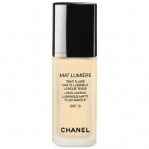 Makiažo pagrindas Chanel Mat Lumiere Teint Fluide SPF15 Cosmetic 30ml Beige 40 Makiažo pagrindas veidui