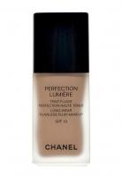 Makiažo pagrindas Chanel Perfection Lumiere Teint Fluide SPF10 Cosmetic 30ml 25 Beige Makiažo pagrindas veidui