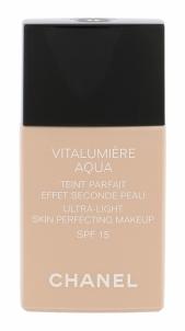 Makiažo pagrindas Chanel Vitalumiere Aqua Makeup No.20 Cosmetic 30ml Makiažo pagrindas veidui