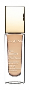 Makiažo pagrindas Clarins Brightening Makeup Skin Illusion SPF 10 (Natural Radiance Foundation) 30 ml 112,5 Caramel Makiažo pagrindas veidui