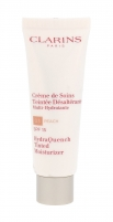 Makiažo pagrindas Clarins HydraQuench 03 Peach Tinted Moisturizer SPF15 Makeup 50ml Makiažo pagrindas veidui