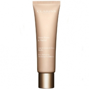 Makiažo pagrindas Clarins Matt liquid make-up Teint Pores and Mati (Foundation) 30 ml 01 Nude Ivory Makiažo pagrindas veidui