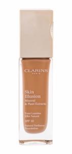 Makiažo pagrindas Clarins Skin Illusion Foundation SPF10 Cosmetic 30ml Amber Makiažo pagrindas veidui