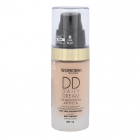 Makiažo pagrindas Deborah Milano DD Daily Dream Anti Age Foundation SPF15 Cosmetic 30ml Shade 0 Fair Rose Makiažo pagrindas veidui