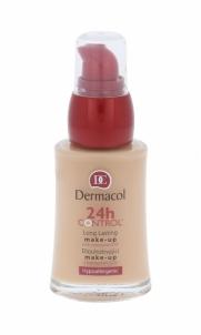Makiažo pagrindas Dermacol 24h Control Make-Up 03 Cosmetic 30ml Makiažo pagrindas veidui