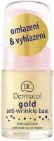 Makiažo pagrindas Dermacol Gold Anti-Wrinkle Base Cosmetic 15ml