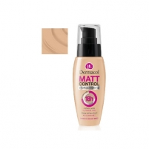 Makiažo pagrindas Dermacol Matt Control MakeUp 3 Cosmetic 30ml Makiažo pagrindas veidui