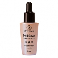 Makiažo pagrindas Dermacol Noblesse Fusion Make-Up Cosmetic 25ml Shade Nude