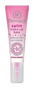 Makiažo pagrindas Dermacol Satin Make-Up Base Cosmetic 10ml Makiažo pagrindas veidui