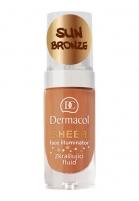 Makiažo pagrindas Dermacol Sheer Face Illuminator Cosmetic 15ml Sun bronze Makiažo pagrindas veidui