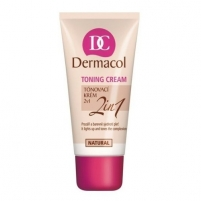 Dermacol Toning Cream 2in1-bronze Cosmetic 30ml The basis for the make-up for the face